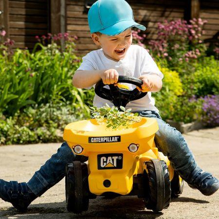 Rolly Toys Ποδοκίνητο Ride on Minitrac Dumper Caterpillar - 132140 - 1131089