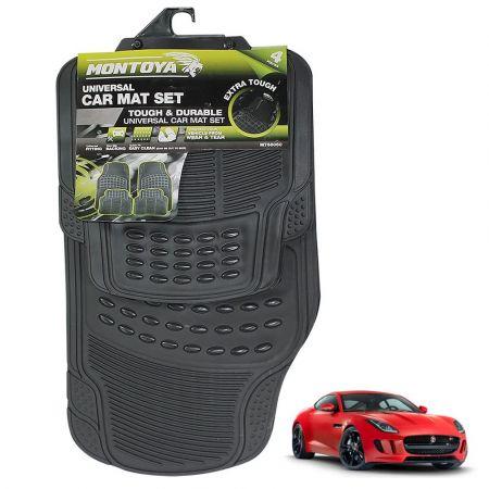 Σετ Πατάκια 4τμχ Λάστιχο - HEAVY DUTY CAR MAT SET 4PCS - MONTOYA MT68060