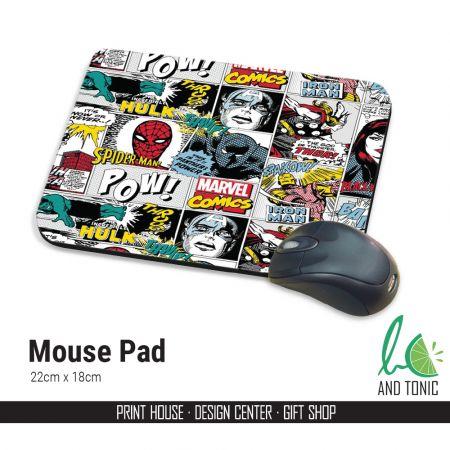 Προσωποποιημένα Mouse Pads για το Χώρο Εργασίας σας ή το Γραφείο στο Σπίτι!
