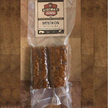 Μπέικον Πιτσιλιάς-Pitsilia Traditional Smoked Bacon