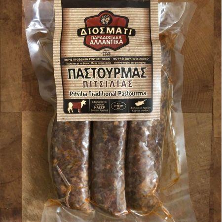 Παστουρμάς Πιτσιλιάς-Pitsilia Traditional Pastourma