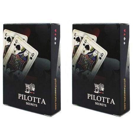 2 Τράπουλες Pilotta Secrets - cards