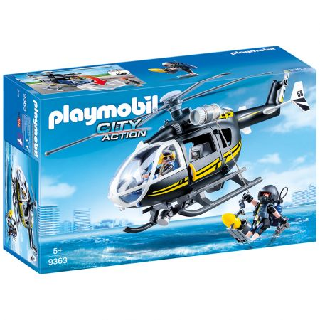 Playmobil Ελικόπτερο Ομάδας Ειδικών Αποστολών - 9363 - Skroutz.com.cy