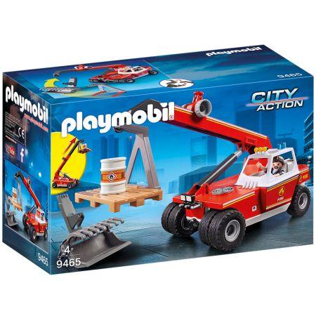 Γερανός Πυροσβεστικής Playmobil City Action PL9465 - Skroutz.com.cy
