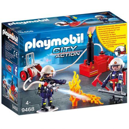 Playmobil Πυροσβέστες με Αντλία Νερού - 9468 - Skroutz.com.cy