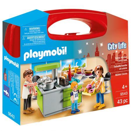 Playmobil Maxi Βαλιτσάκι Μοντέρνα Κουζίνα (9543) - skroutz.com.cy