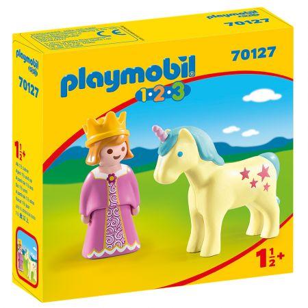 Playmobil Πριγκίπισσα με Μονόκερο 70127