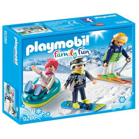 PLAYMOBIL Παρέα Χιονοδρόμων 9286
