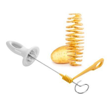 Κόφτης Πατάτας σε Σπιράλ - Potato Spiral Cutter - Skroutz.com.cy