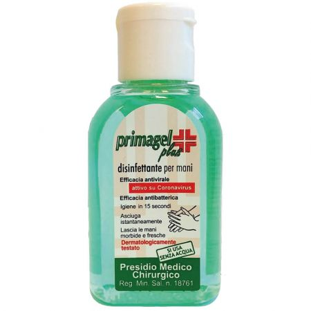 Primagel Plus Αντισηπτικό τζελ καθαρισμού χεριών 50 ml - skroutz.com.cy