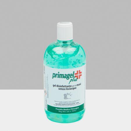 Primagel Plus Αντισηπτικό τζελ καθαρισμού χεριών 500 ml - skroutz.com.cy