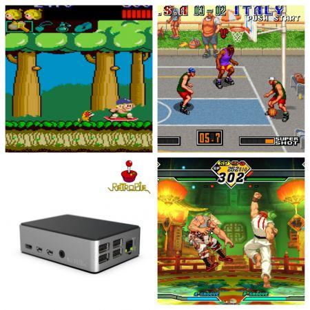 RetroPie arcade κονσόλα για ατέλειωτο παιχνίδι - 32Gb - skroutz.com.cy