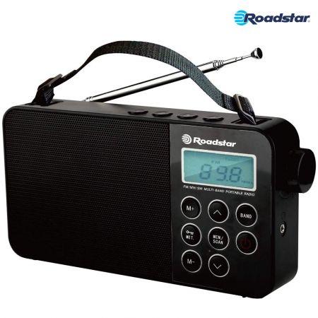Ραδιόφωνο παγκοσμίου λήψεως Roadstar TRA-2340PSW με οθόνη LCD , υποδοχή ακουστικών και ξυπνητήρι - skroutz.com.cy
