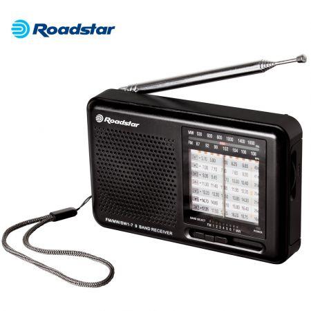 Roadstar TRA-2989 Φορητό Ραδιόφωνο Μαύρο - skroutz.com.cy