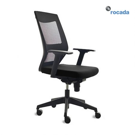 Rocada Operative Office Chairs 908 Black - ROC-RD-908/4