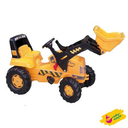 Παιδικό Τρακτέρ με Φαγάνα - Rolly Junior JCB Tractor 811083 / 1131026 - skroutz.com.cy