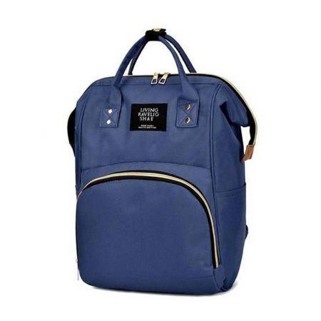 Σακίδιο Πλάτης Backpack Τσάντα μαμάς Αλλαξιέρα 3 σε 1 χωρητικότητας 30ltr με μέγιστο βάρος 15kg, σε μπλε χρώμα, 51x36 cm 8912