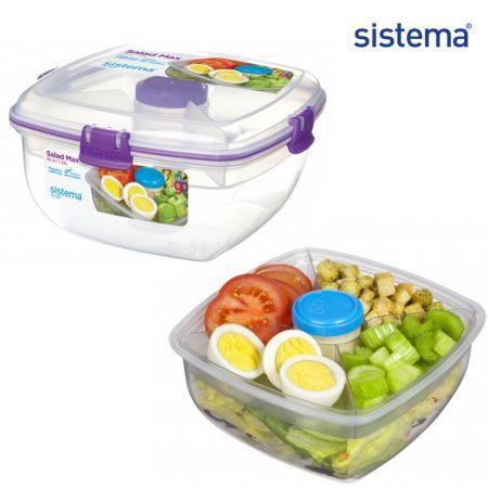 Sistema Φαγητοδοχείο για Σαλάτα - Salad Max TO GO™ Phthalate & BPA Free 21357