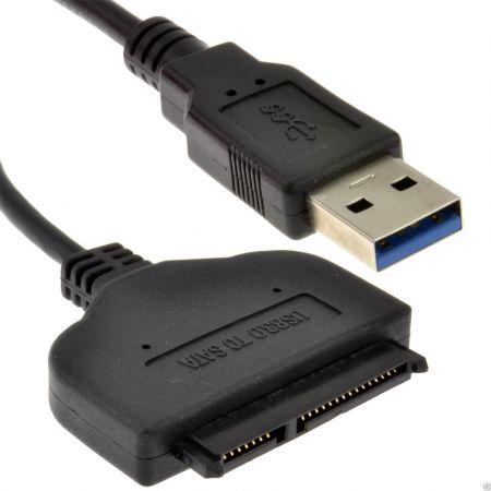 Καλώδιο Μεταφοράς Δεδομένων από USB 3.0 σε SSD  Δίσκους