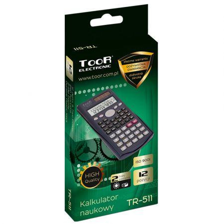 Scientific calculator TOOR TR-511 / Υπολογιστική μηχανή - lifetime warranty