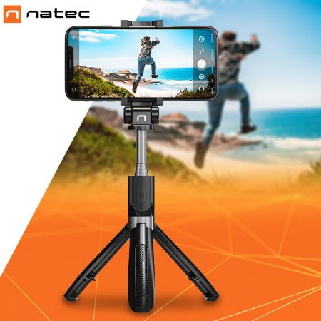 Natec ALVITO Wireless Selfie Stick - Τριπόδι Bluetooth 4.0 - skroutz.com.cy