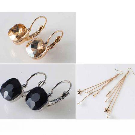 Σκουλαρίκια σε 3 Υπέροχα Σχέδια