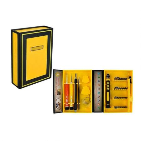 Σετ Εργαλείων Επιδιόρθωσης 38 τεμαχίων για Smartphone Repair Tool Kit με βαλιτσάκι μεταφοράς, 15x10.5x3.6 cm - 5760