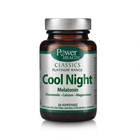 Power Health Classics Platinum Cool Night Φυσική Φόρμουλα κατά της Αϋπνίας, 30 caps - skroutz.com.cy