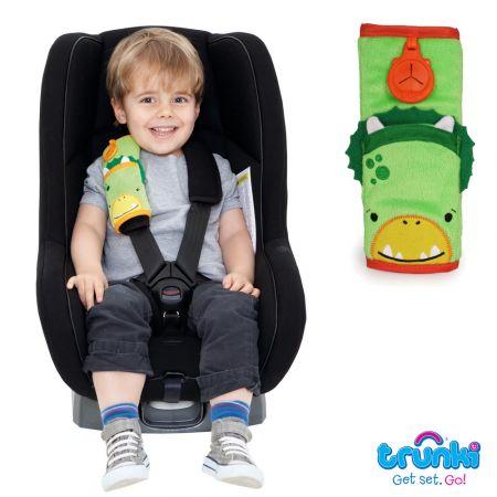 SnooziHedz Seatbelt Pad Dino - skroutz.com.cy