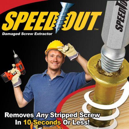 Σετ εξολκέων χαλασμένων βιδών - Screw Remover Speed Out - 21626 - Skroutz.com.cy