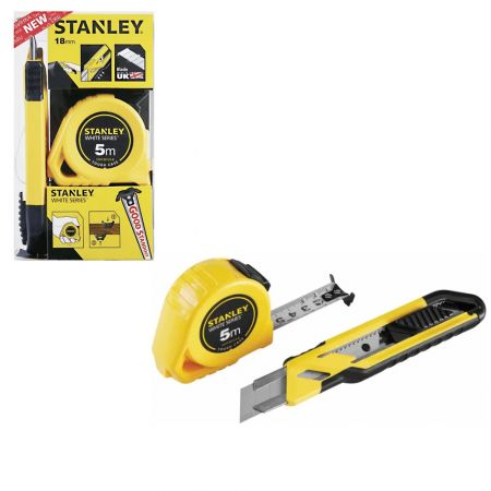 Stanley STHT74253 8 Cutter and Tape Measure Set