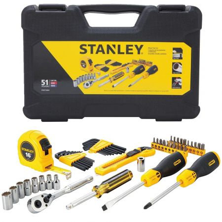 Stanley Mixed Tool Set 51 τμχ stmt74864 - skroutz.com.cy