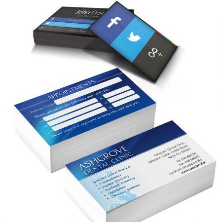500 Επαγγελματικές Κάρτες  ή Έγχρωμα Φυλλάδια -Star Press