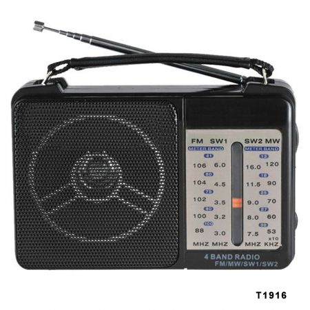 Vintage Φορητό Ραδιόφωνο FM SOEWEL T1916