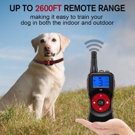 Κολλάρο Εκπαίδευσης Σκύλου μέχρι 800m (χωρίς εμπόδια) 2021 T502 Electric dog training Collar - skroutz.com.cy
