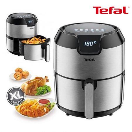 Tefal Healthy Fryer, 4.2L, 1500W, 8 Functions, Black & Silver TFEY401D27 - skroutz.com.cy