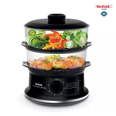 Ατμομάγειρας Tefal Convenient 2 Bowls Steam Cooker - Black