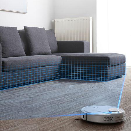 TESLA RoboStar iQ500 Intelligent Robotic Vacuum Cleaner with Superior Battery Capacity - skroutz.com.cy