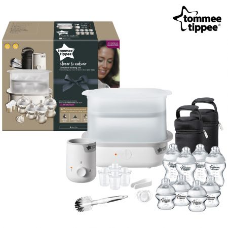 Tommee Tippee Complete Feeding Kit - White - skroutz.com.cy