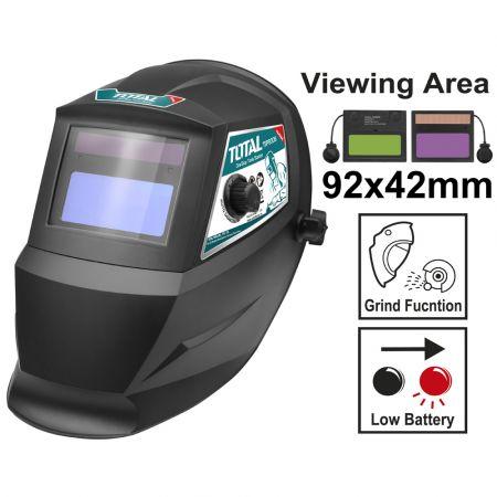TOTAL TSP9306 Ηλεκτρονική Μάσκα Ηλεκτροκόλλησης - skroutz.com.cy
