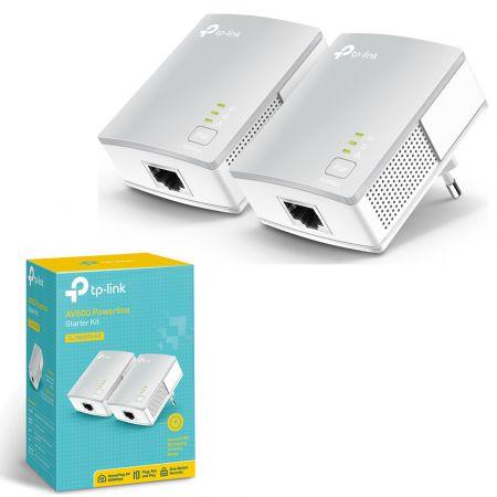 Powerline Adapter Starter Kit TP-LINK TL-PA4010KIT - Ιδανικό μέσο για να επεκτείνετε το οικιακό σας δίκτυο! - skroutz.com.cy