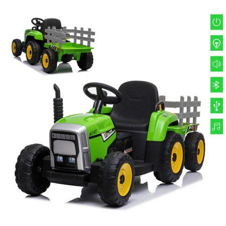 ΗΛΕΚΤΡΟΚΙΝΗΤΟ TRACTOR 12VOLTS GREEN WITHOUT R/C XM611 - 1131095 - skroutz.com.cy