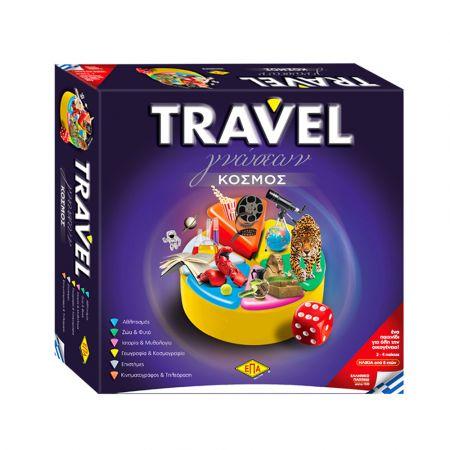 Επιτραπέζιο Γνώσεων Travel με Νέα Αυθεντικά Πιόνια (03-206) - skroutz.com.cy