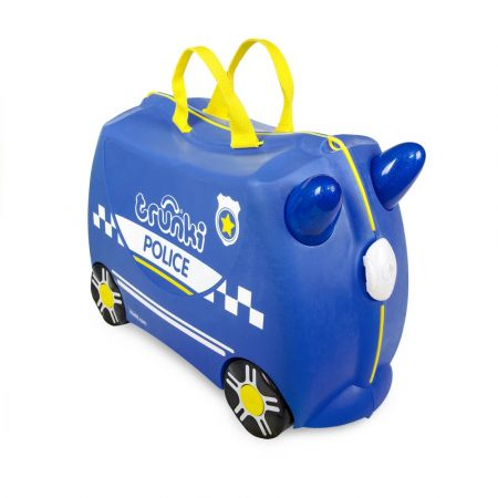 Trunki Percy the Police Car Παιδική Βαλίτσα Ταξιδίου
