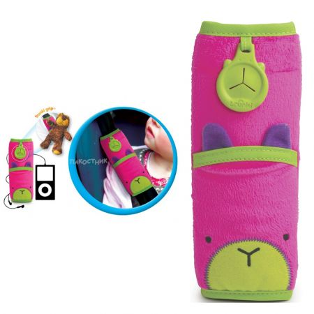 Trunki Seatbelt Pad Betsy (Pink) Snoozihedz - μαξιλαράκι ζώνης ασφαλείας αυτοκινήτου - skroutz.com.cy