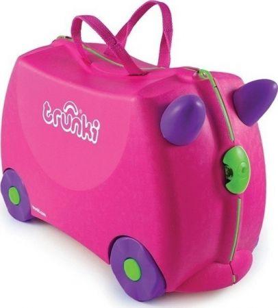 Παιδική Βαλίτσα Ταξιδίου Trunki Trixie Pink - Skroutz.com.cy