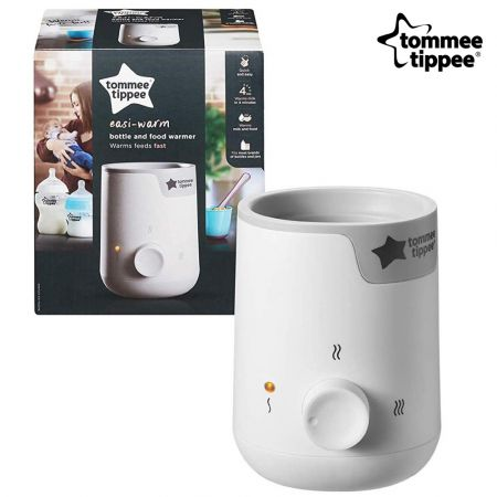 Tommee Tippee Easy Warm Baby Electric Bottle and Food Warmer, Mains Powered, White