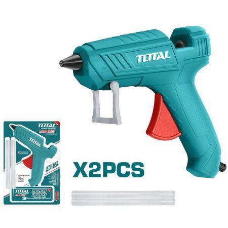 TOTAL TT101116 Πιστόλι Σιλικόνης Φ11,2mm 100W