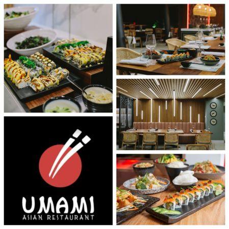 Απεριόριστο Luxury Sushi and Pan Asian Buffet για 2 Άτομα με Μοναδικές Γεύσεις, στο Umami Asian Restaurant - Αγία Νάπα