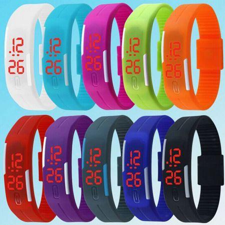 2 Unisex Ψηφιακά Ρολόγια Χειρός
